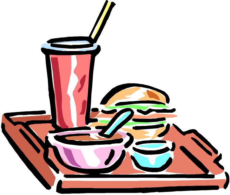 Free School Lunch Tray Clip Art